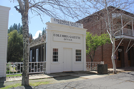 Columbia Gazette History - Compliments of CB&S